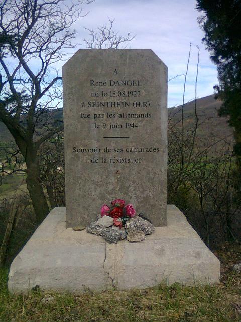 monument du soldat DANGEL