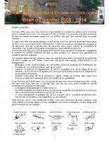 Hors série – bilan de mandat 2008-2014.